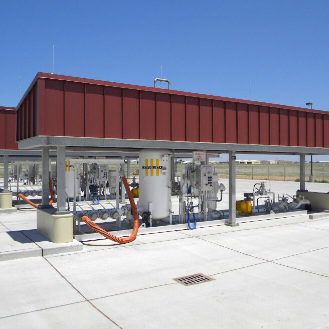 New Pumphouse and Fuel Storage Facility - Cannon AFB